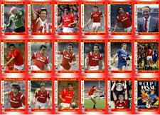 Manchester United 1985 FA Cup final winners football trading cards