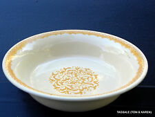 """GINGERSNAP by FRANCISCAN ~ 9 1/2"""" ROUND VEGETABLE SERVING DISH"""