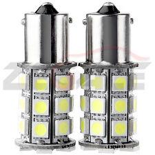 2X White 27 SMD LED Car Rear Tail Light Lamp Bulbs 1156/207 BA15s P21W 5050 12V