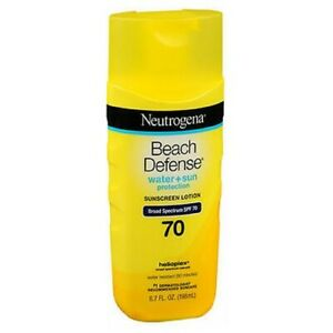 Neutrogena Beach Defense Lotion SPF 70 6.7 oz