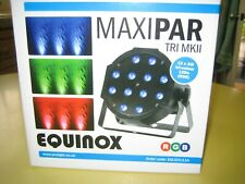 More details for full lighting system equinox maxipar tri mkii + dmx mini controller