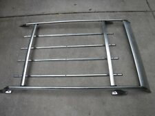 Vintage Chrome Roof Luggage Rack Wagon Ford Chevy 70's Surf Rod Custom