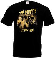 Misfits v21 poster T shirt black all sizes S-5XL