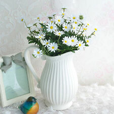 24 Heads Artificial Flower Daisy Bouquet Fake Flowers Party Wedding Table Decor