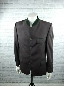 Lodenfrey Innsbruck Wool Trachten Loden Tyrol Hunting Blazer Jacket Size 48