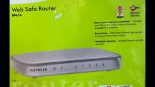 Netgear Rp614 100 Mbps 4-Port 10/100 Wired Router Web Safe with Adaptors Cat5 Cb