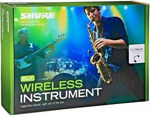 SHURE BLX14 Sistema di Registrazione Wireless BETA98H/C microfono a collo d'oca
