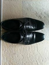 scarpe n.d.c. made by hand 41 uomo Belsize nero lace-up shoes men's ndc black