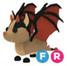 Adopt Me - Bat Dragon with Fly and Ride - Legendary Pet - Limited - FR 🦇