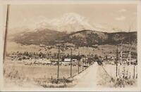 RPPC Postcard Mt Shasta  California CA