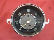 Speedometer Volkswagen Oval Window Beetle Bug VDO Clear Needle 1956