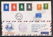 Poststuk (094) uit 1952 - Riebeeck Vlucht A'dam-Kaapstad - Lees !!!!