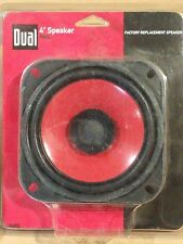 "Dual R40S 4"" Factory Replacement 30-Watt Red Car Speaker 85dB (130 Hz - 16 kHz)"