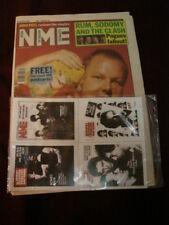 NME 1991 OCT 5 PIXIES JOHN PEEL CLASH POGUES JAMES BROWN ROBBIE ROBERTSON SHAMEN