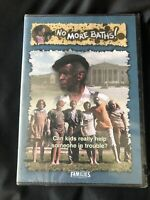 No More Baths (DVD, 2004) SEALED Nwt New Feature Films For Families DVD