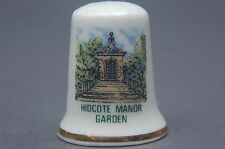 Hidcote Manor Garden NT Gloucestershire China Thimble B/168