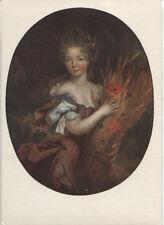 Alte Kunstpostkarte - Ecole Francaise - Portrait préumé de la Duchesse...