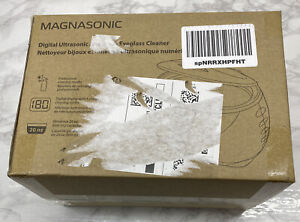 MAGNASONIC DIGITAL ULTRASONIC JEWELRY & EYEGLASS CLEANER