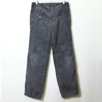 Diesel Corduroy Pants Grey 27 Women's RISPOS-LES Low Rise Lightweight Gray