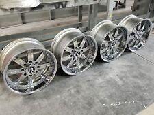 "s20"" chrome forged Chevy GM GMC Hummer H2 2500 3500 22 24 8-lug wheels denali"
