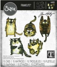 Tim Holtz Snarky Cat Framelits Sizzix 664803 - IN STOCK NOW!