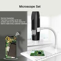 1000X 200W Digital Microscope Magnifier Wireless WiFi USB For IOS iPhone Android