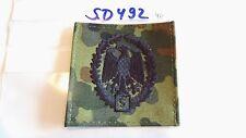 Bundeswehr Leistungsabzeichen schwarz auf Tarn mit 5 1Stück (sd492)