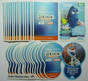 SAINSBURYS Disney HEROES ON A MISSION Single Cards 2021 (Select your card)