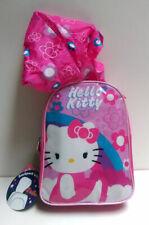 Sanrio HELLO KITTY Mini Backpack w Attached Hood School Toddler Girls Kids Bag