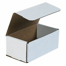 50- 7x4X3 White Corrugated Carton Cardboard Packaging Shipping Mailing Box Boxes
