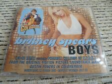 "Britney Spears ""Boys (Co-Ed Remix)"" UK CD Single (2002) Ft. Pharrell Williams"
