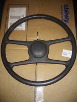 84 85 86 87 88 Pontiac Fiero Steering Wheel & horn button Grey Gray Dark
