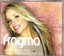 Fragma - Say That You're Here (CD 1) - CDM - 2001 - Trance Synth Pop 3TR Damae