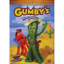 GUMBY'S GREATEST ADVENTURES CLASSIC GUMBY POKEY 55 MIN COLOR FULL SCREEN