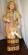 "MASTER PIECE GALLERY BERDINE CREEDY ""Bianca"" PORCELAIN #0437 COA New In Box"