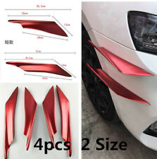 4pcs 2size Never Fade Front Bumper Body Side Wing Spoiler/lip for Car/Ttruck/SUV