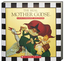 The Real Mother Goose (padded, hc) by Blanche Fisher Wright - nursery rhymes NEW