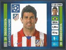 PANINI UEFA CHAMPIONS LEAGUE 2013-14- #500-ATLETICO MADRID-DIEGO COSTA