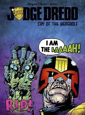 Judge Dredd Cry Of The Werewolf Comic Book 2017 - IDW