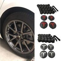 Tesla Model 3  S & X Aero Wheel Cap Kit Car Mounting Accessories