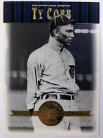 2001 01 Upper Deck Cooperstown Collection Ty Cobb #41, Detroit Tigers