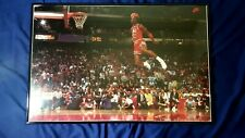 "Michael Jordan ""MVP"" Slam Dunk Contest Poster.  Authentic 1992 Nike Poster."
