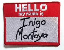 "Princess Bride- My Name is Inigo Montoya  3.75""  Patch (PrBrPA-01)"