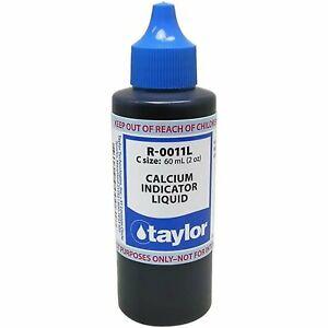 Taylor R-0011L-C Calcium Indicator Liquid 2 oz