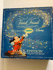 Trivial Pursuit The Magic of Disney Family Edition, 1986 complete game