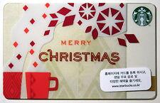 Starbucks Korea 2013 Merry Christmas Card