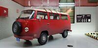 G LGB 1:24 Maßstab VW Bay T2 Verwittert Wohnwagen 1972 Druckguss Modell Bus Van