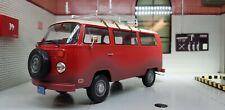G LGB 1:24 Scale VW Bay T2 Weathered Campervan 1972 Diecast Model Bus Van