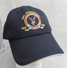 Federation of Anglers Hunters Ontario  baseball cap hat adjustable buckle