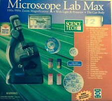 Microscope Lab Max w/ Instructional CD, by Science Tech, new